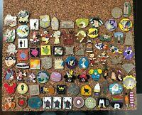 Disney World Trading Pin Lot of 80 Pins Hidden Mickey 2007-2019 Cast Member WDW