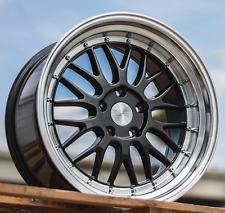 "17"" ESR SR05 Gunmetal Wheels 5x114.3 17X8.5 +30 For Toyota Sienna Rav 4 Rims Set"