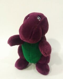 "Rare Original 90's Barney The Dinosaur 10"" Dakin/Lyons Plush w/ Tail Flaw"