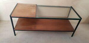 Table basse design années 50 60 Richard Monpoix Guariche **