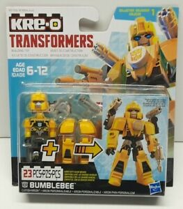 Hasbro Kree-O Transformers Bumblebee 23 Piece Custom Kreon Building Toy