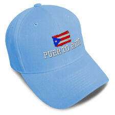 Dad Hats for Men Puerto Rican Flag Puerto Rico Embroidery Women Baseball Caps