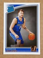 Luka Doncic #177 2018 - 19 Panini Donruss Rated Rookie Card RC
