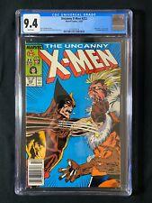 Uncanny X-Men #222 CGC 9.4 (1987) - Newsstand - Wolverine vs Sabretooth