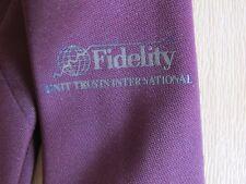1988 FIDELITY Unit Trusts International SNOOKER Tournament Tie