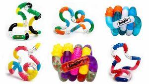 Genuine Zuru Tangle Creations Textured Toy Fidget Stress Autism ADHD Sensory Toy