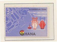 (ZK-14) 1962 Ghana 3d TEMA HARBOUR MUH