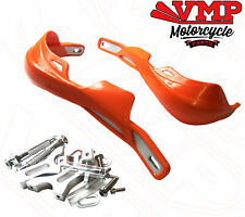 Motorcycle Supermoto Motocross Handguards Brush Guards Alloy - Orange
