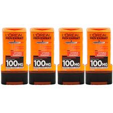 Loreal Men Expert Duschgel HYDRA ENERGY 4 x 300 ml Aufwach Kick mit Taurin
