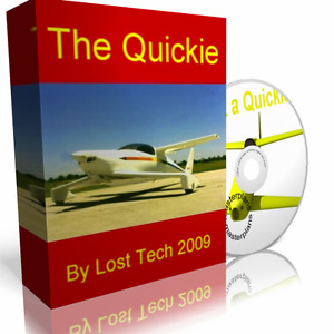 BUILD ULTRALIGHT QUICKIE Q1 Q2 Q200 AIRPLANE PLANS PLUS EXTRAS ON DVD