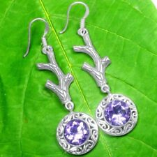 Amethyst Not Enhanced Amethyst Fine Earrings