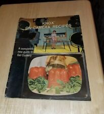 1962 Knox Gelatin Gelatine On Camera Recipes Completely New Guide Gel Cookery SC
