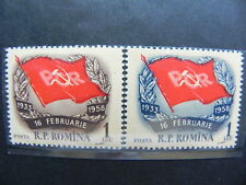 1958 - Romania - Aniversarea Grevei Generale de la Grivita, MNH