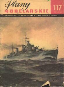 """Model Ship Plan - Cruiser HMS """"PENELOPE"""""""