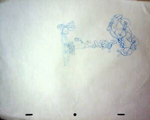 BONKERS 1993 Production Animation Hand Drawn Production BONKERS Pencil #RB