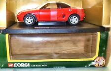 CORGI 1:18 SCALE  MGF 1.81 VVC ROADSTER  HARD TOP FLAME RED  Model 95101  1995