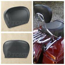 Sissy Bar Passenger Backrest Pad For Harley Touring Model Road King 97-18 TCMT