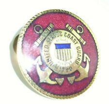 United States Coast Guard Logo Pin Plaque Round USCG 1790 Semper Paratus