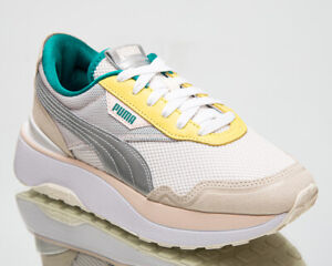 Puma Cruise Rider OQ Women's Beige Pink Silver Casual Lifestyle Sneakers Shoes