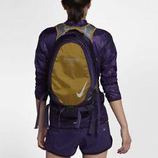 Nike x Undercover GYAKUSOU Unisex Lightweight Running Backpack Gold Purple