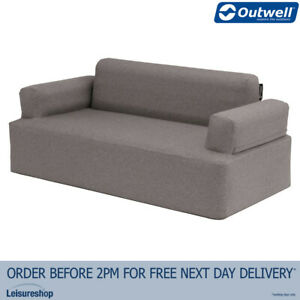 Outwell Lake Superior Inflatable Sofa(Grey) Blow Up/2/Two Person/Camping/Outdoor