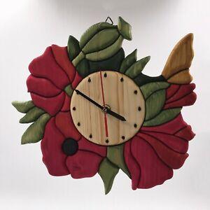 Clock Poppy flower