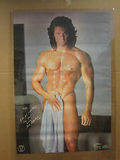 Vint Bob Colantonio Towel The Perfect  Male Him & Her poster hot guy 1989 3287