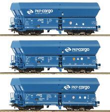 Roco 76133 - 3-tlg. Set: Selbstentladewagen, Falns, PKP Cargo NEUHEIT 2018
