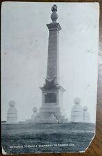 1905 Coombe Hill, Memorial to Bucks Yeomanry Postcard To: Tallow Factory, Oxford
