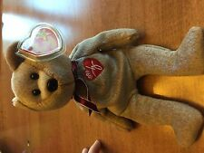 "TY Beanie Baby 1999 Signature Bear with ""Gasport"" tag error"