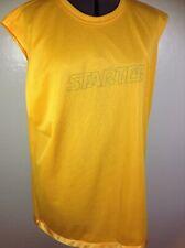 Starter Reversible Tank Basketball Jersey Shirt Top Size Mens Large Yellow