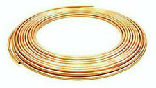 1 X 10 METRE COIL OF 8MM COPPER PIPE/TUBE/PLUMBING/WATER/GAS/CENTRAL HEATING/NEW
