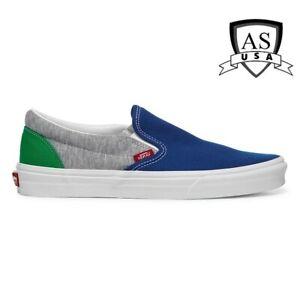 VANS Classic Slip-On Low Top Coastal Grey Men's Size 10.5, 13 Sneakers  New