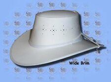 CUTANA HATS - WHITE Fabrashade...BARRAMUNDI BOWLS.. HAT