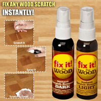 2 Pcs Wood Scratch Remover Instant Fix Repair Paint for Wooden Table Bed Floor
