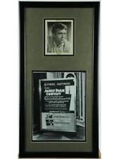 James Dean Framed Signed Photo Lot 102