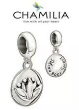 New Genuine CHAMILIA 925 sterling silver MIND, BODY, SPIRIT SOUL Charm