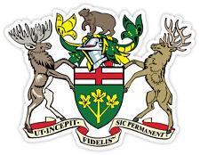 Ontario stemma coat of arms Canada provincia etichetta sticker 12cm x 9cm