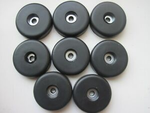 Rubber Feet for Speaker Cabinets & Flight cases with steel washer /