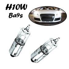 2x H10W BA9S 12V Clear White Ersatz Halogen Lampe - BMW 5er E39 E60