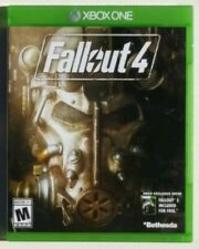 FALLOUT 4 Microsoft Xbox One Bethesda Game Studios Apocalyptic RPG Video USED 1