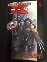 ULTIMATE X-MEN Vol 5 Ultimate War - Marvel - Trade Paperback TPB (Wolverine)