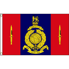 45 Commando Royal Marines Flag 5Ft X 3Ft British Military Elite Navy Banner New