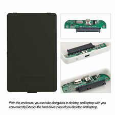"USB 2.0 Hard Drive Disk External Enclosure 2.5"" 2TB SATA HDD Mobile Disk Case MC"