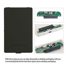 "USB 2.0 Hard Drive Disk External Enclosure 2.5"" 2TB SATA HDD Mobile Disk Case MC"