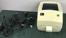 Zebra Technologies TLP 2844 Thermal Label Printer POS Barcode UK Mains 240V #5