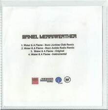 DANIEL MERRIWEATHER FEATURING ADELE - WATER & A FLAME 2009 PROMO 4 TRACK CDR