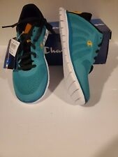 Champion Gusto XT II Teal light weight Athletic Girl's Shoe Sneaker Size5.5Youth