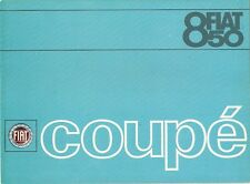 Fiat 850 Coupe 1966-68 UK Market Foldout Sales Brochure