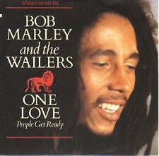 "BOB MARLEY One Love & So Much Trouble In The World  PICTURE SLEEVE 7"" 45 rpm NEW"